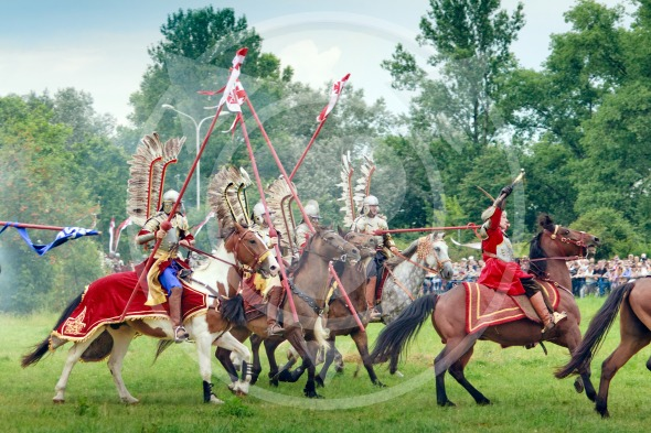 Charge of Polish Hussars – Battle of Klushino