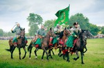 Image of cossacks. Cossacks – Armored companions, Battle of Klushino reenactment