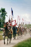 Image of hussars. Winged Hussars Cavalry