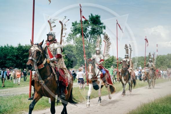 Hussars Cavalry horsemen – Battle of Klushino (KLUSZYN)