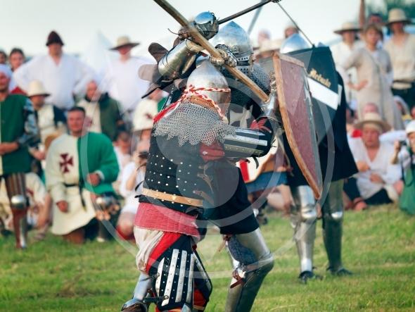 Knights fighting – Battle of Grunwald 1410