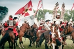 Image of hussars. Polish Winged Hussars – Battle of Klushino
