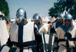 Image of knights. Teutonic Knights – Battle of Grunwald 1410 festival