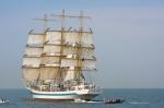 Image of Mir. Tall ship STS MIR during Culture 2011 Tall Ships Regatta