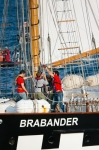 Image of vessel. Vessel Brabander setting sails