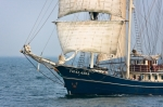 Image of Thalassa. Sailing vessel Thalassa, Culture 2011 Tall Ships Regatta