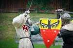 Image of duel. Medieval Knights Duels