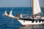 Image of sailing. Brabander sailing vessel