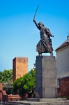 Image of commander. Jan Kilinski statue (1794 uprising commander)