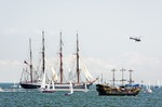 Image of regatta. Russian Barque 'SEDOV'