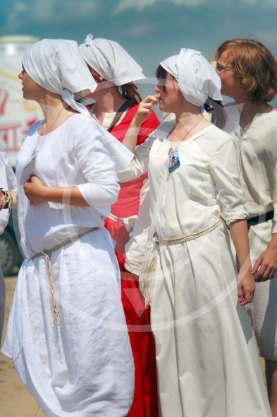 Medieval women clothing  – Battle of Grunwald