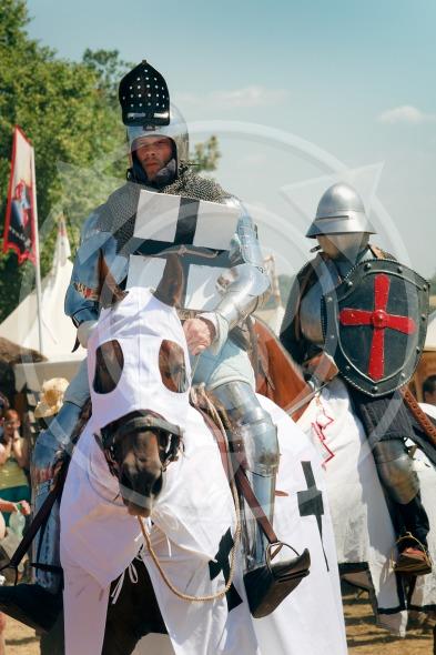Mounted Knights, Grunwald, Poland