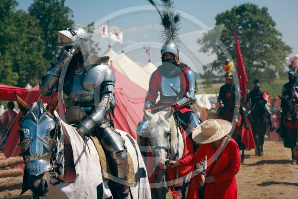 Mounted Knights cavalcade – 600th anniversary Battle of Grunwald
