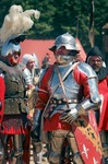 Image of knights. Armored  Knights