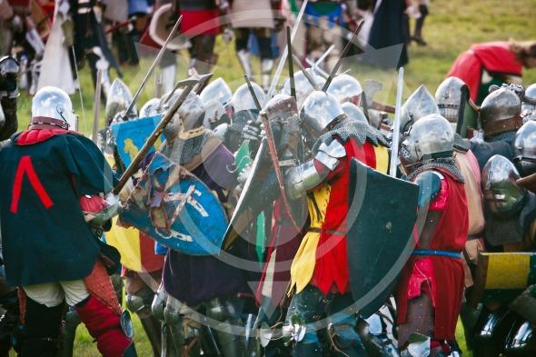 Battle of Grunwald – Foot Knights Clash