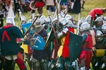 Image of battle. Battle of Grunwald – Foot Knights Clash
