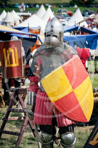 Lithuanian knight at Battle of Grunwald 1410 – 601th anniversary