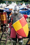 Image of medieval. Lithuanian knight at Battle of Grunwald 1410 – 601th anniversary