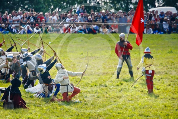 Medieval Archers at Battle of Grunwald festival 2011