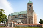 Image of collegiate. Collegiate church in Tum