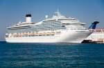 Image of cruise. Passenger cruise ship