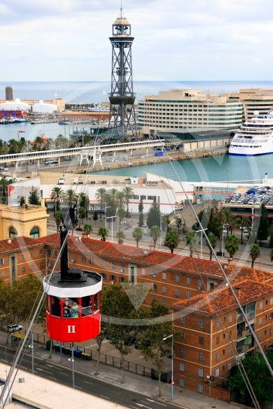 Barcelona Cable Car – Port Vell Aerial Tramway