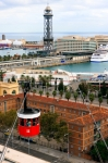 Image of Barcelona. Barcelona Cable Car – Port Vell Aerial Tramway
