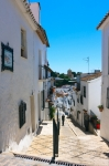 Image of Mijas. Mijas in Spain, Calle del Pillar street