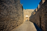Image of Rhodes. Ancient streets of  Rhodes Island