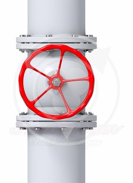 Gas pipe line valve