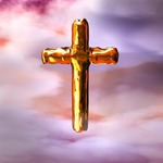 Image of cross. Christian Cross