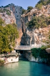 Image of Turkey. Saklikent Canyon entrance and Xanthos River / Turkey