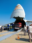 Image of MAKS. AN-124-100 Antonov unloading