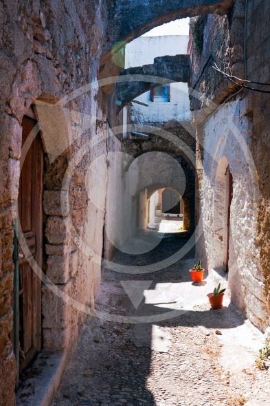 Rhodes, Greece, Street view