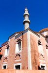 Image of mosque. Suleiman Mosque in  Rhodes, Greece