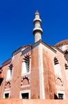 Image of mosque. Suleiman Mosque in  Rhodes, Greece