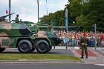 Image of howitzer. Gun howitzer Dana 152