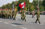 Image of canada. Canadian Armed Forces parade. Polish Armed Forces Day 2014