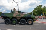 Image of Wolverine. Rosomak – Wheeled Armored Vehicle