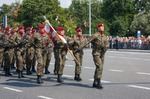 Image of airborne. Polish Airborne Brigade during the Polish Armed Forces Day 2014