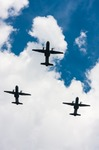 Image of casa. C-295 M CASA over the sky