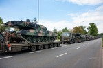 Image of tank. Leopard 2 tanks transport