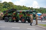Image of rocket. WR-40 Langusta, self-propelled rocket launcher