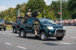 Image of grom. GROM – elite counter-terrorism units in Toyota Hilux