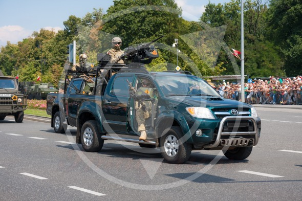 GROM – elite counter-terrorism units in Toyota Hilux