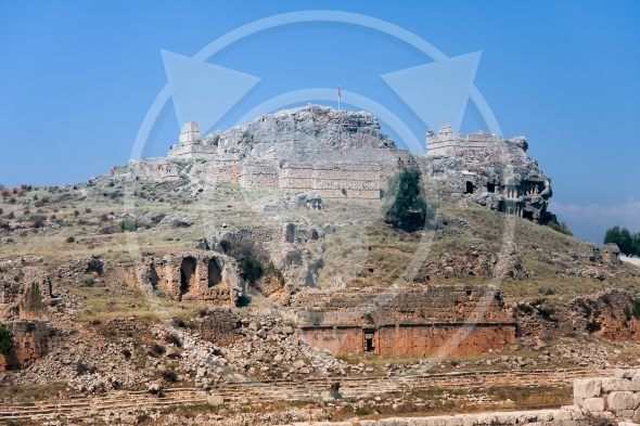 Tlos City – ancient ruins and tombs / Turkey