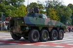 Image of vehicle. Wheeled Armored Vehicle ROSOMAK,  Wolverine