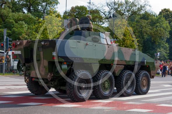 Wheeled Armored Vehicle ROSOMAK,  Wolverine