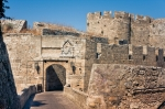 Image of Rhodes. Ancient city walls of  Rhodes Island