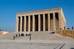 Image of Ataturk. Mustafa Kemal Ataturk Mausoleum, Ankara